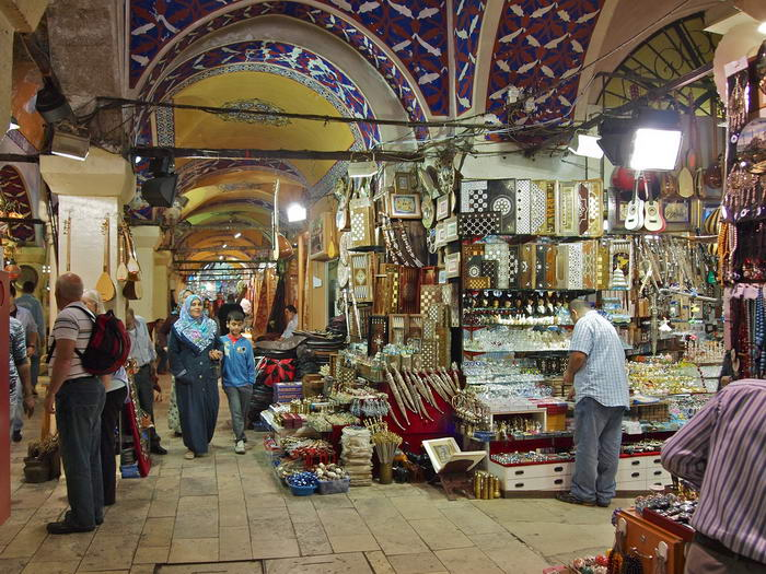 Inside the Grand Bazaar by Stew Dean