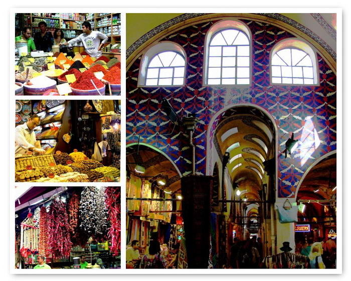 The Grand Bazaar by Maria Rosaria