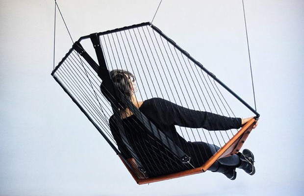 Cello Hanging Chair by Felix Guyon_6