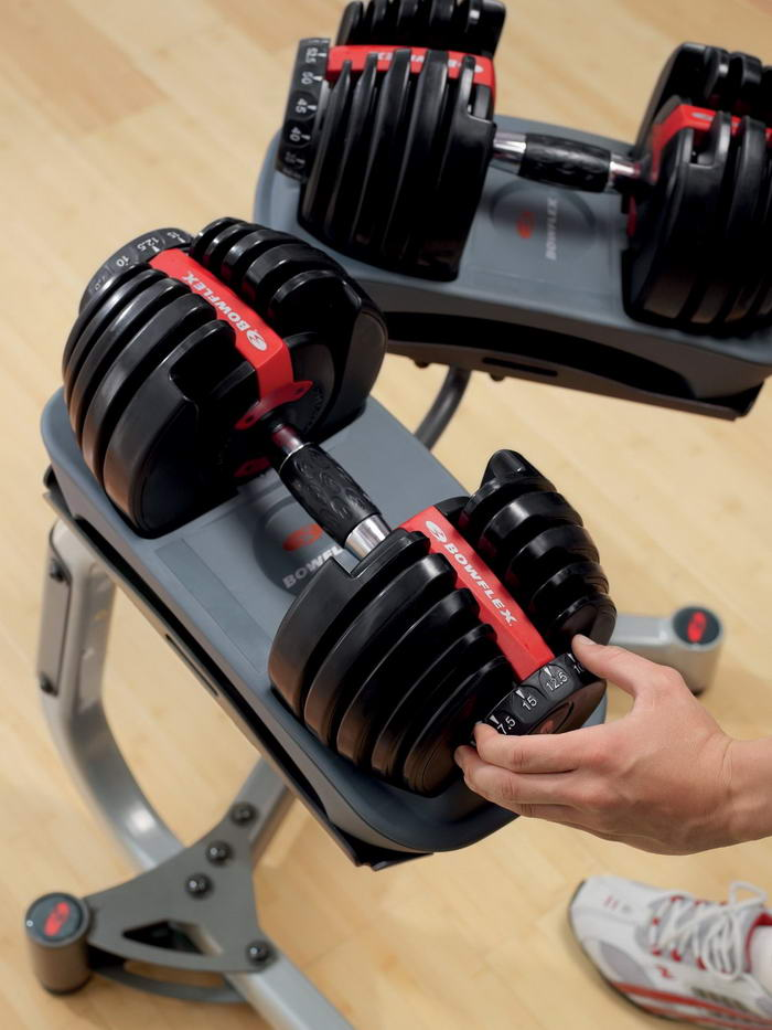 Bowflex SelectTech 552 Adjustable Dumbbells (4)