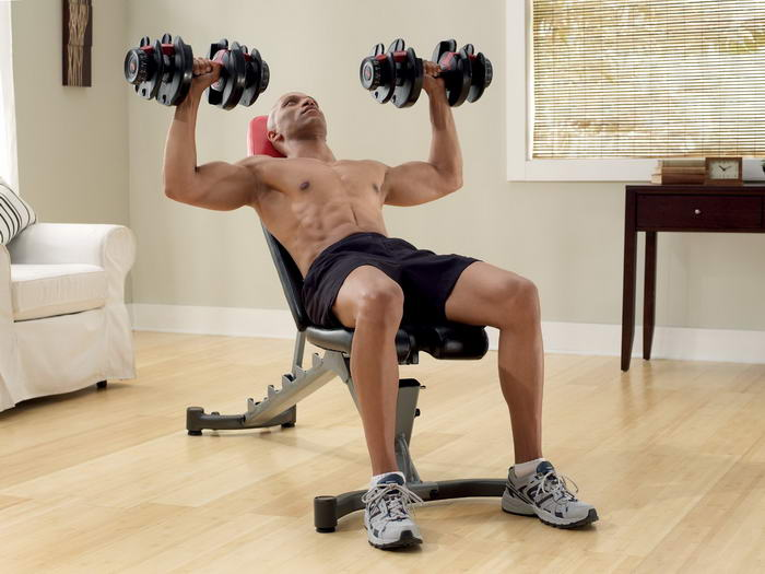 Bowflex SelectTech 552 Adjustable Dumbbells (3)