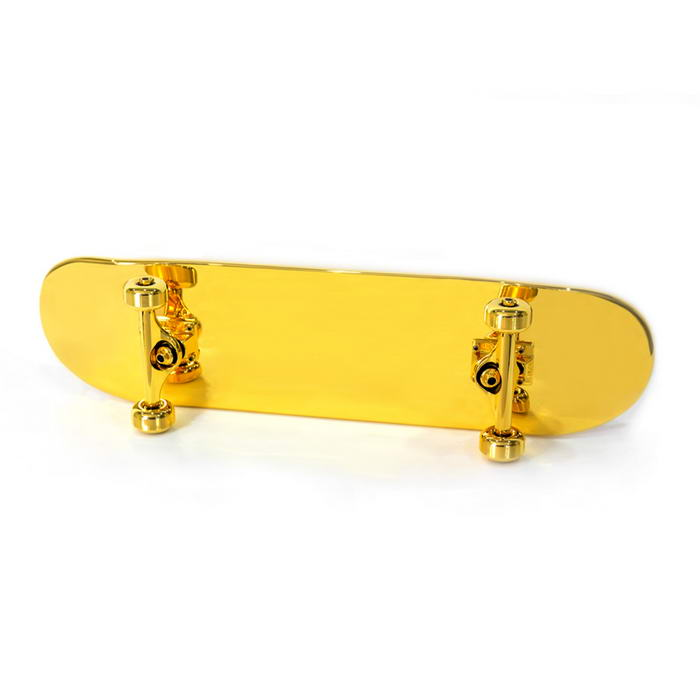Gold Plated Skateboard (4)
