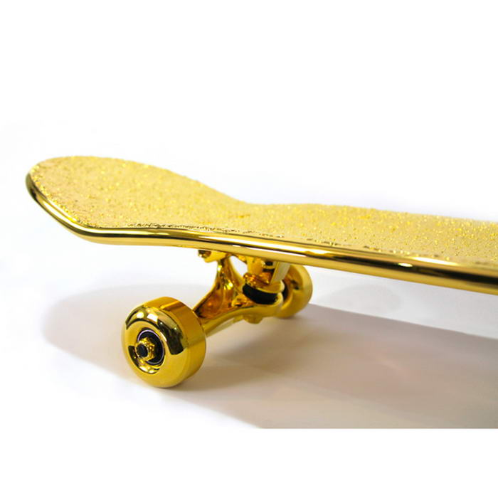 Gold Plated Skateboard (2)