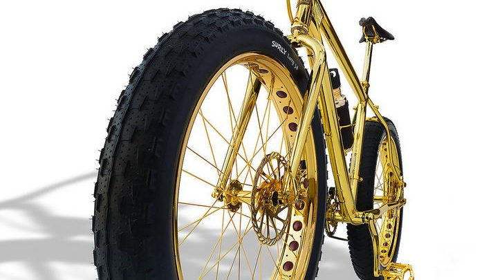 Most Expensive Mountain Bike >> The Most Expensive Bike In The World 24k Gold Extreme Mountain Bike