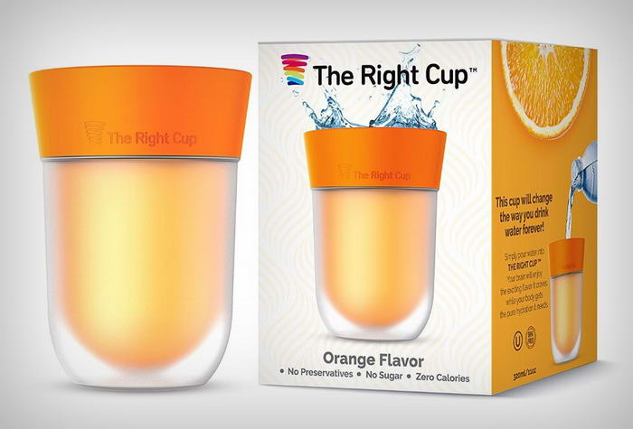 Flavored Water cup  (2)
