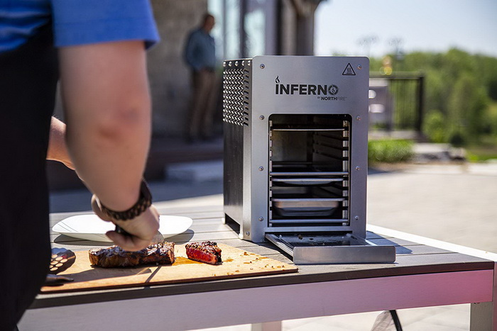 Inferno Single Propane Infrared Grill (3)
